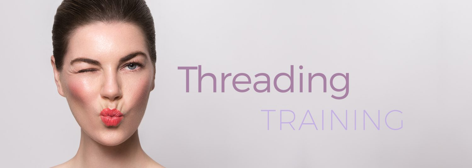 Brow Threading Training by The Lash Collection for ...